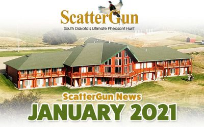 ScatterGun Lodge News January 2021