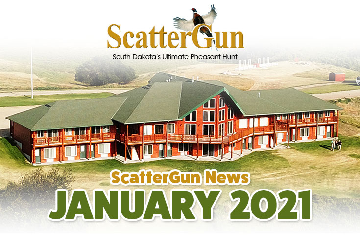 ScatterGun Lodge News January 2021